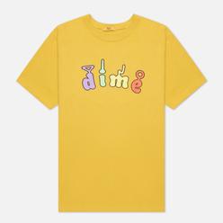 Мужская футболка Dime Tubs Dark Yellow