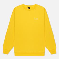 Мужская толстовка Dime Classic Small Logo Crew Neck Yellow