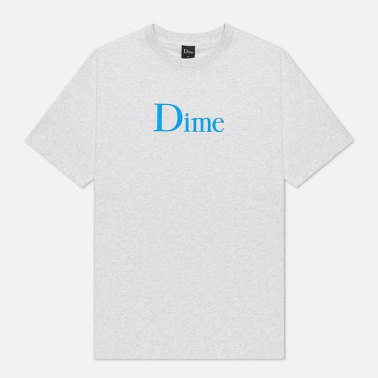 Мужская футболка Dime Classic Logo Ash