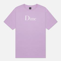 Мужская футболка Dime Classic Logo Lavender