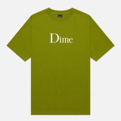 Мужская футболка Dime Classic Logo Olive