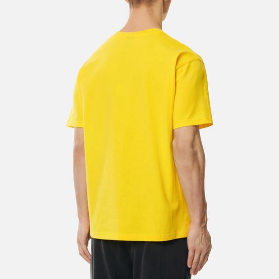 Мужская футболка Dime Classic Small Logo Yellow