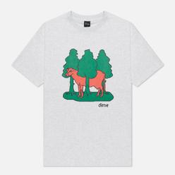 Мужская футболка Dime Forest Cow Ash