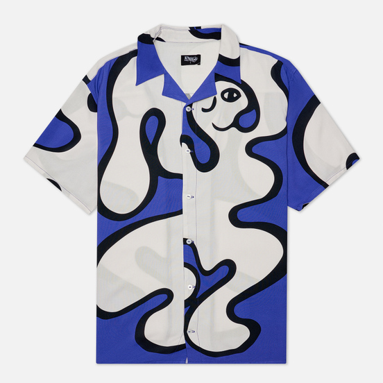 Мужская рубашка Dime Chilling Rayon Blue