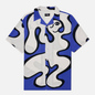 Мужская рубашка Dime Chilling Rayon Blue фото - 0