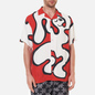 Мужская рубашка Dime Chilling Rayon Red фото - 2
