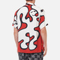 Мужская рубашка Dime Chilling Rayon Red фото - 3