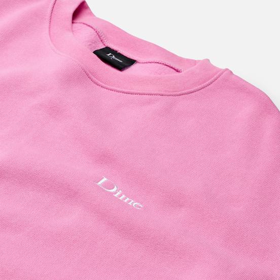 Мужская толстовка Dime Classic Small Logo Crew Neck Light Pink