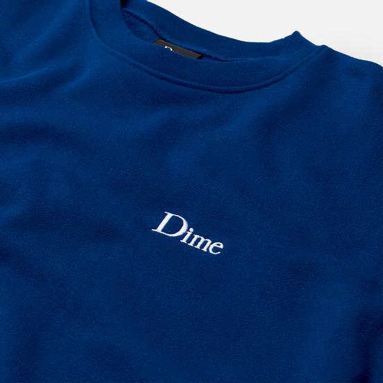 Мужская толстовка Dime Classic Small Logo Crew Neck Navy