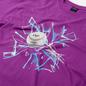 Мужская футболка Dime Curveball Dark Magenta фото - 1