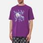 Мужская футболка Dime Curveball Dark Magenta фото - 2