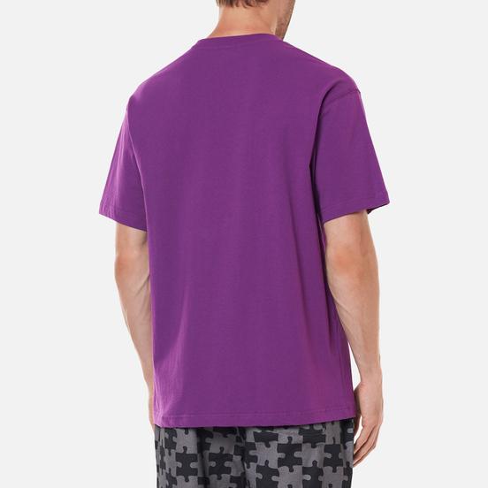 Мужская футболка Dime Curveball Dark Magenta