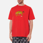 Мужская футболка Dime Puzzle Cat Cherry фото - 2