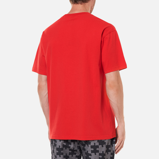 Мужская футболка Dime Puzzle Cat Cherry