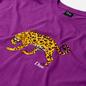 Мужская футболка Dime Puzzle Cat Dark Magenta фото - 1