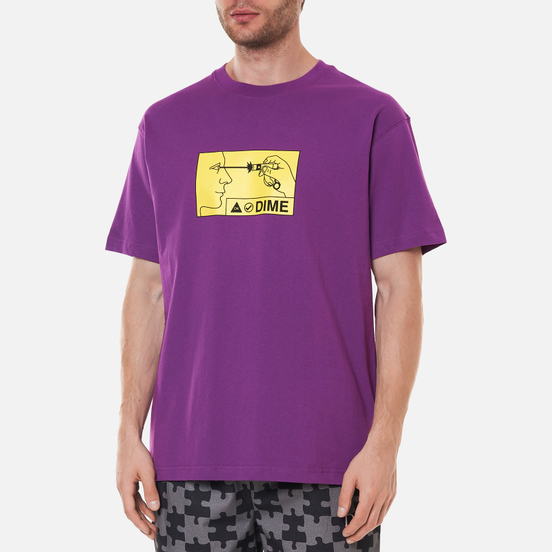 Мужская футболка Dime Vision Dark Magenta