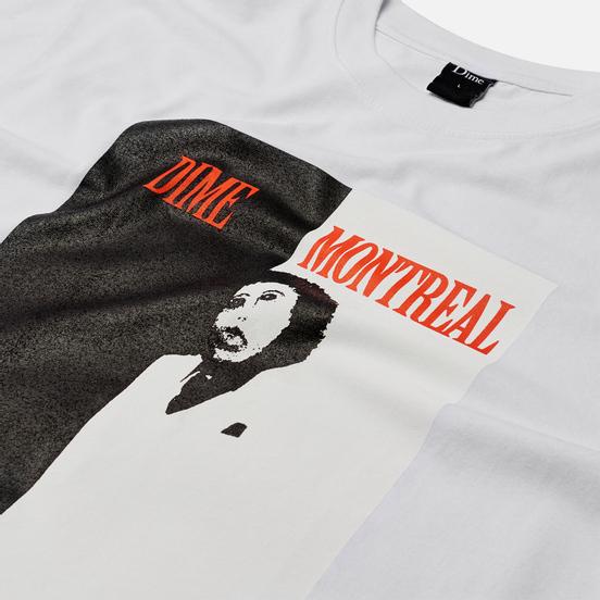 Мужская футболка Dime Restoration Face White