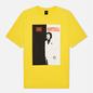 Мужская футболка Dime Restoration Face Yellow фото - 0