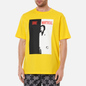 Мужская футболка Dime Restoration Face Yellow фото - 2