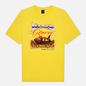 Мужская футболка Dime Glory Challenge Yellow фото - 0