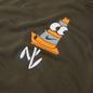 Мужская толстовка Nike SB Graphic Hoodie Cargo Khaki/Total Orange фото - 2