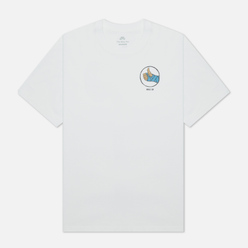 Мужская футболка Nike SB Fracture White