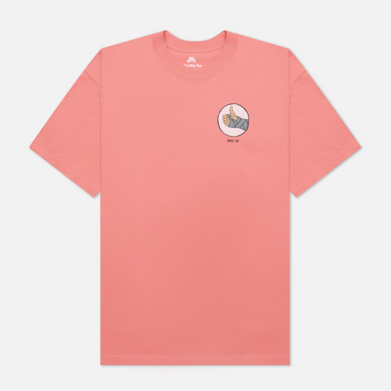 Мужская футболка Nike SB Fracture Pink Salt