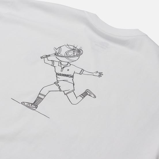 Мужская футболка Nike SB Header White