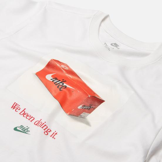 Мужская футболка Nike Swoosh 50 Photo White