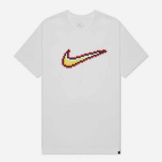 Мужская футболка Nike Swoosh White
