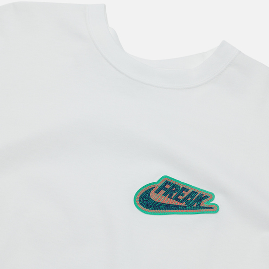 Мужская футболка Nike Giannis Freak Premium White