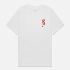 Мужская футболка Nike x Kyrie Irving Dri-Fit Logo White
