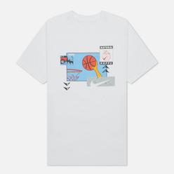 Мужская футболка Nike Basketball Oc Photo White