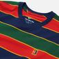 Мужская футболка Nike Court Embroidered Stripes Binary Blue фото - 1