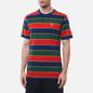 Мужская футболка Nike Court Embroidered Stripes Binary Blue фото - 2