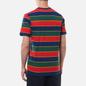 Мужская футболка Nike Court Embroidered Stripes Binary Blue фото - 3