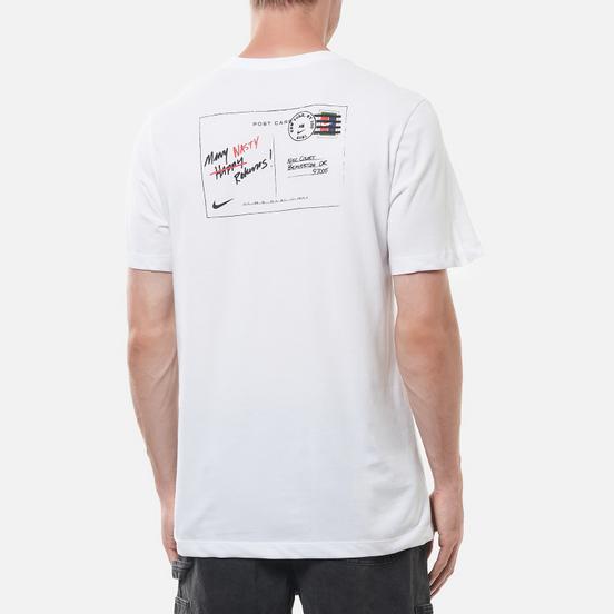 Мужская футболка Nike Court NYC Postcard White