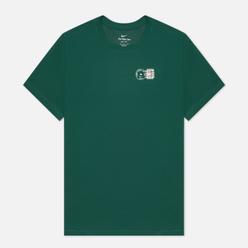 Мужская футболка Nike Court NYC Postcard Gorge Green