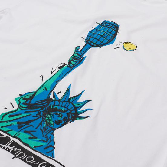 Мужская футболка Nike Court Dri-Fit NYC Liberty White