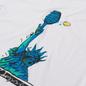 Мужская футболка Nike Court Dri-Fit NYC Liberty White фото - 1