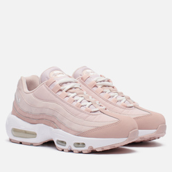 Женские кроссовки Nike Air Max 95 Pink Oxford/Summit White/Barely Rose