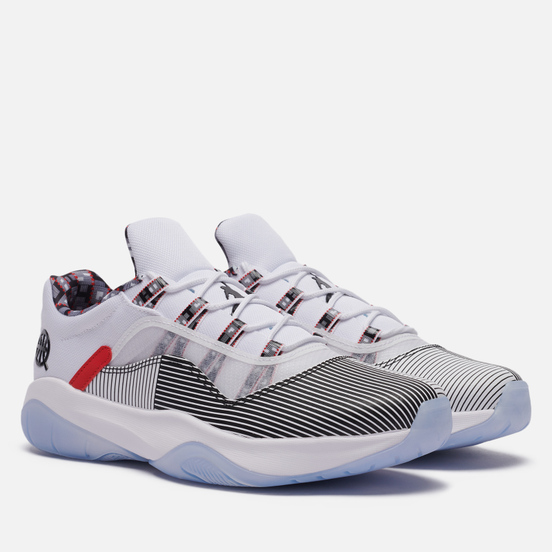 Мужские кроссовки Jordan Air Jordan 11 Low CMFT Quai 54 White/Black/University Red