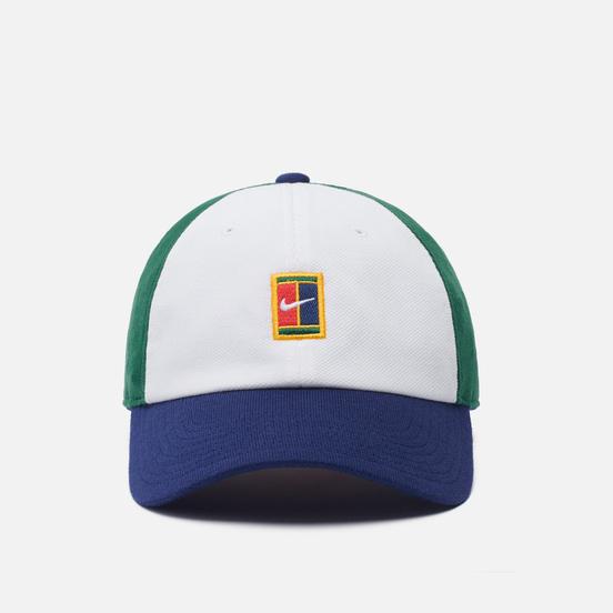 Кепка Nike H86 Court Logo Seasonal White/Binary Blue/Gorge Green