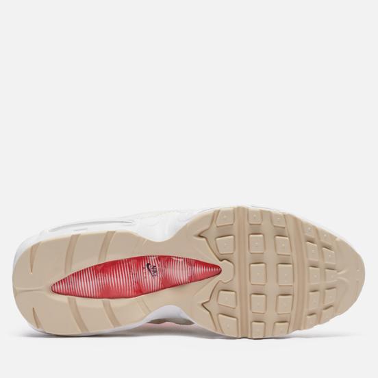 Женские кроссовки Nike Air Max 95 Coconut Milk Sail/Black/Chile Red/Coconut Milk