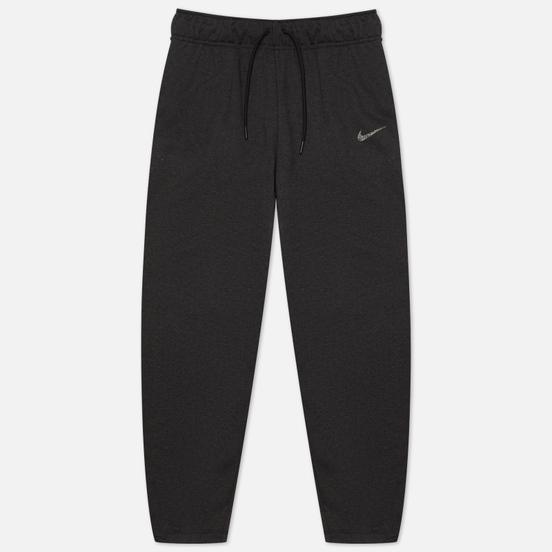 Женские брюки Nike Essentials Fleece Curve Black Heather/White