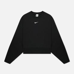 Женская толстовка Nike Essential Collection Fleece Crew Black/White