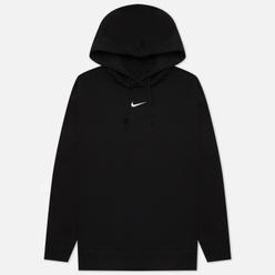 Женская толстовка Nike Essentials Oversized Fleece Hoodie Black/White