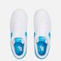 Мужские кроссовки Nike x Space Jam Air Force 1 07 Hare White/Light Blue Fury/White фото - 1