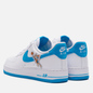 Мужские кроссовки Nike x Space Jam Air Force 1 07 Hare White/Light Blue Fury/White фото - 2