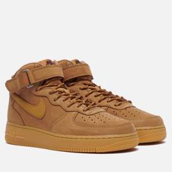 Кроссовки Nike Air Force 1 Mid 07 Flax Flax/Wheat/Gum Light Brown/Black